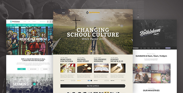 Introducing Bethlehem – Church WordPress Theme