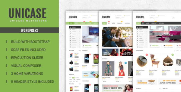 Introducing Unicase – Electronics Store WooCommerce Theme