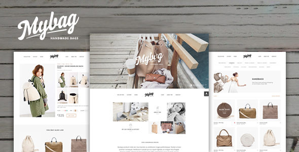 Introducing MyBag – Single Product WooCommerce Theme
