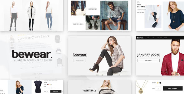 Introducing Bewear – Fashion LookBook WooCommerce Theme