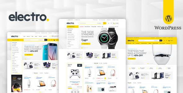 Introducing Electro Electronics Store WooCommerce Theme