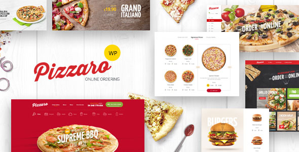Introducing Pizzaro – Fast Food & Restaurant WooCommerce Theme
